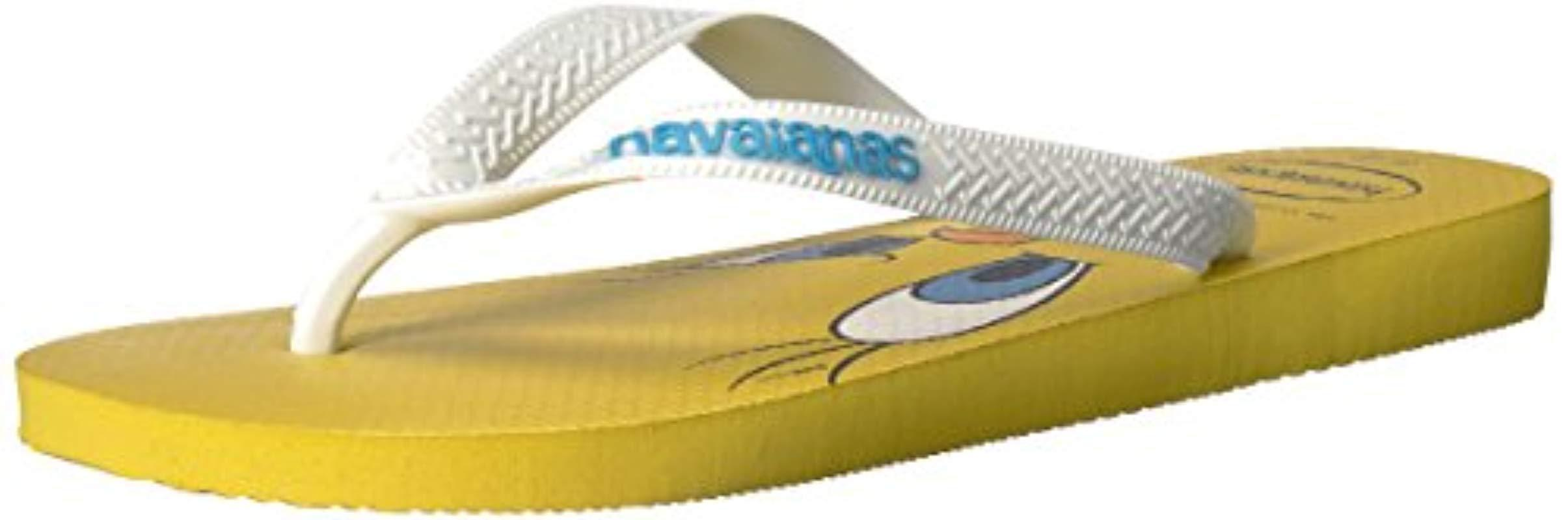 ef6f9ce579eba7 Lyst - Havaianas Looney Tunes Sandal Citrus Yellow in Yellow