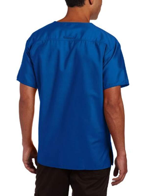 75689a6ee54 Lyst - Dickies Everyday Medical Scrub Top in Blue for Men