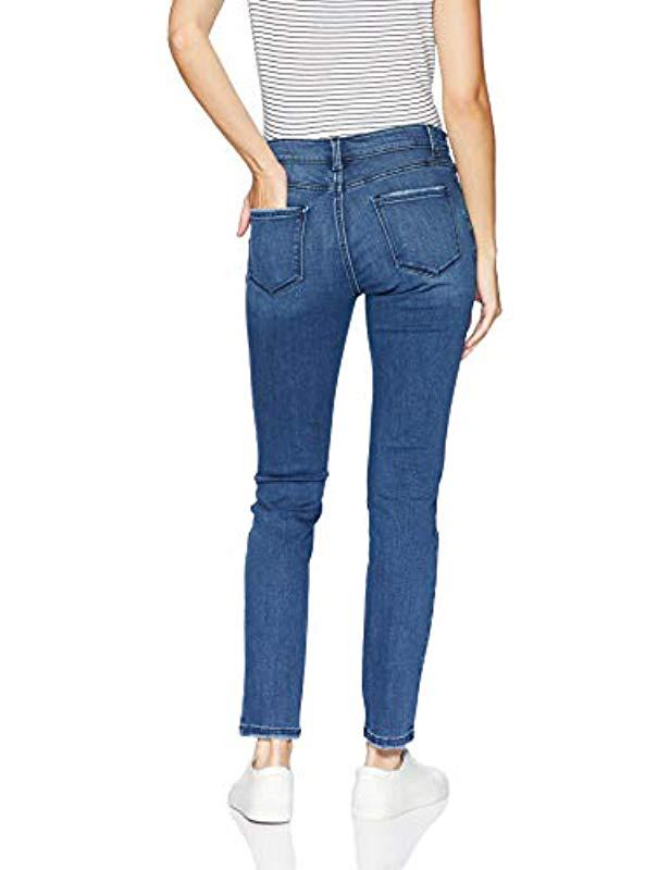 fbec835a31c Lyst - Lee Jeans Dream Soft Slim Fit Skinny Leg Jean