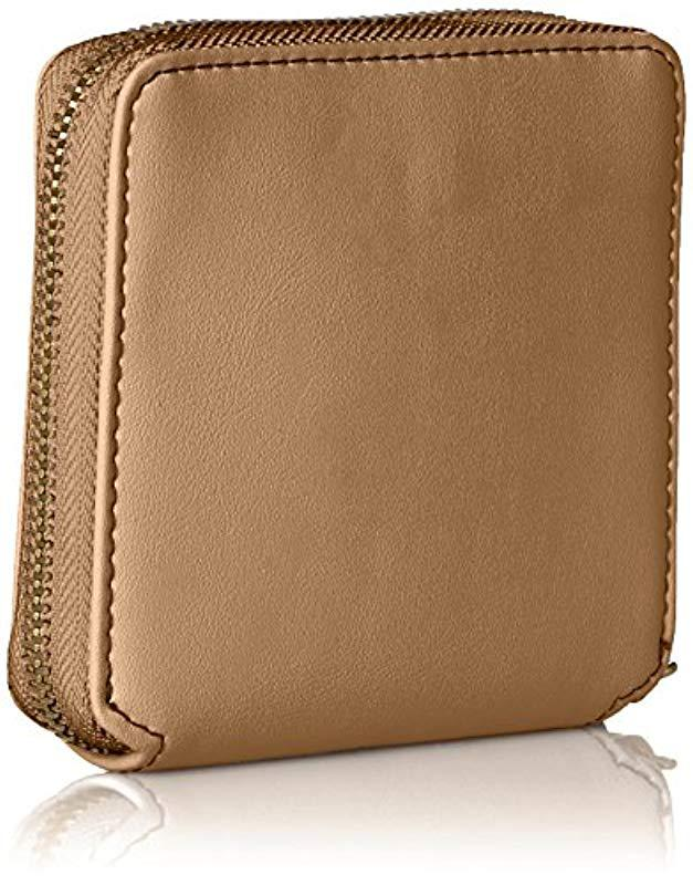 062368e47ba4f Lyst - Anne Klein French Wallet in Natural - Save 40.0%