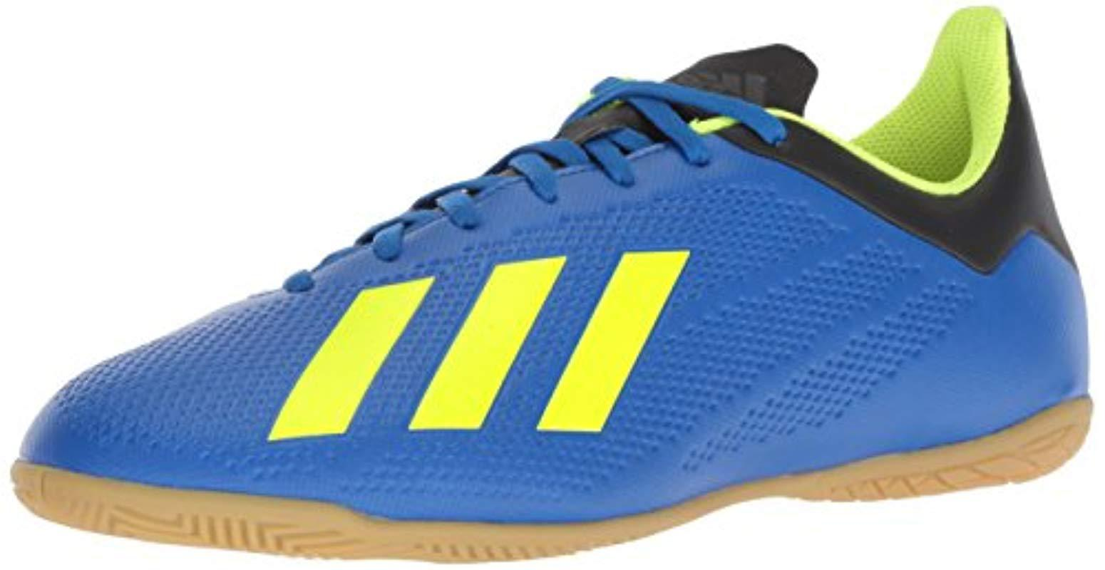 f8a73deee16 adidas X Tango 18.4 Indoor Soccer Shoe in Blue for Men - Save 6% - Lyst