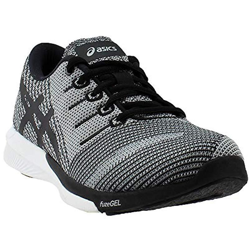 0ebc48e8d169 Asics - Black S Fuzex Rush Running Shoe - Lyst. View fullscreen