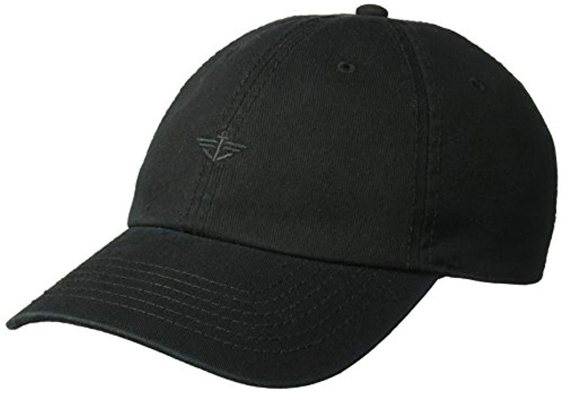 Lyst - Dockers Classic Baseball Dad Hat With Logo in Black for Men ... f43a693d6f31