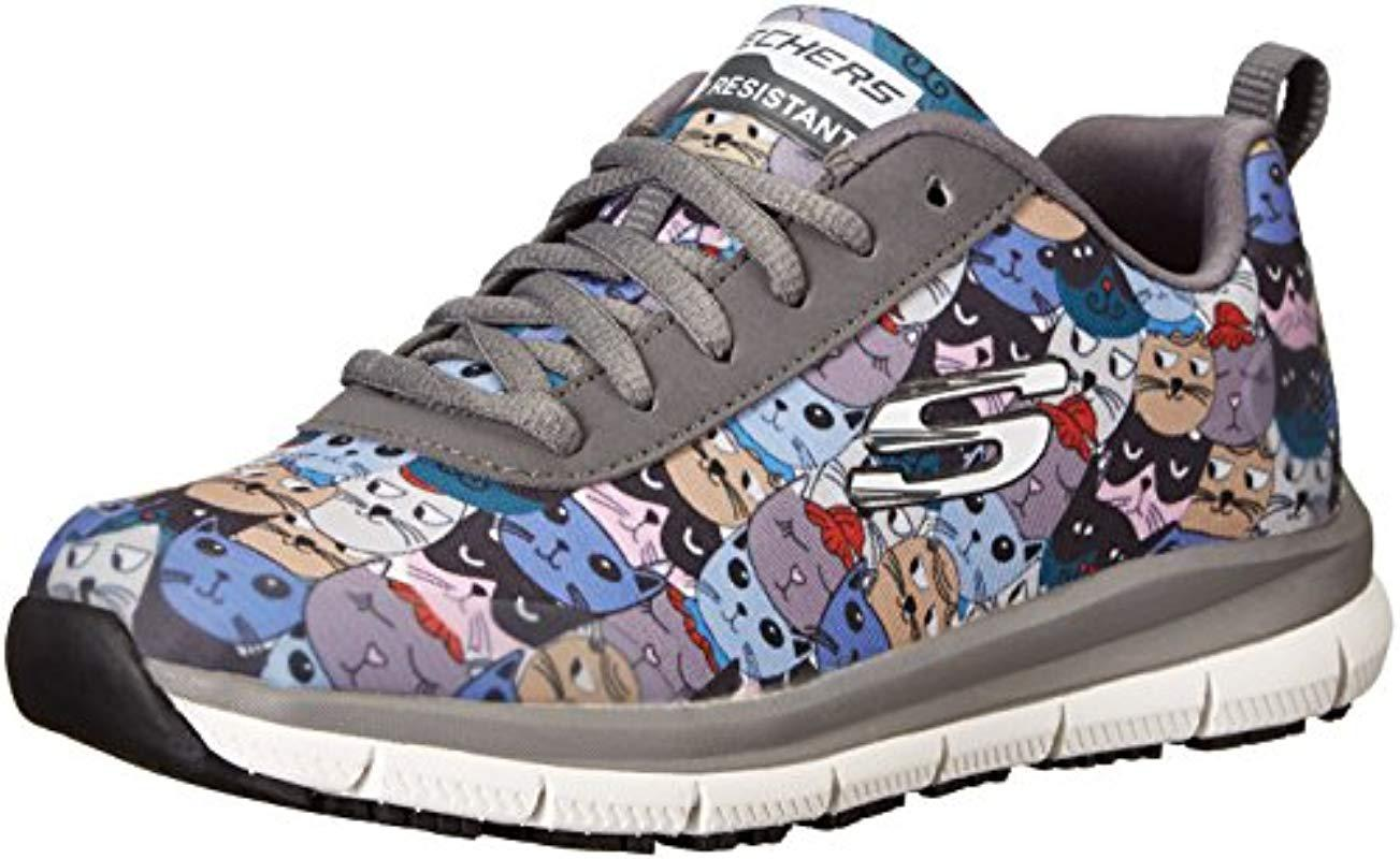 5f7beb8f0430 Skechers. Women s Comfort Flex Sr Hc Pro Health Care Professional Shoe