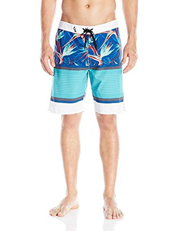 ccc419bd8a Rip Curl Mirage Aggrohaven Boardshort in Blue for Men - Save 39% - Lyst