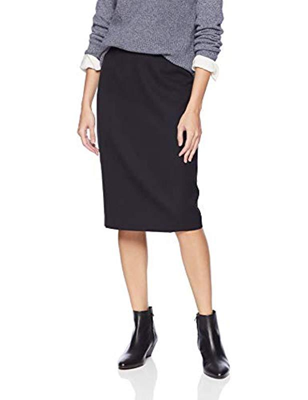 870b1b2f6 Lyst - Pendleton Seasonless Wool Pencil Skirt in Black