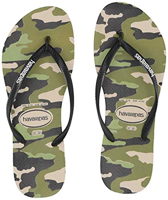 37457b3a5e1 Havaianas - Multicolor Slim Camo Sandal - Lyst. View fullscreen