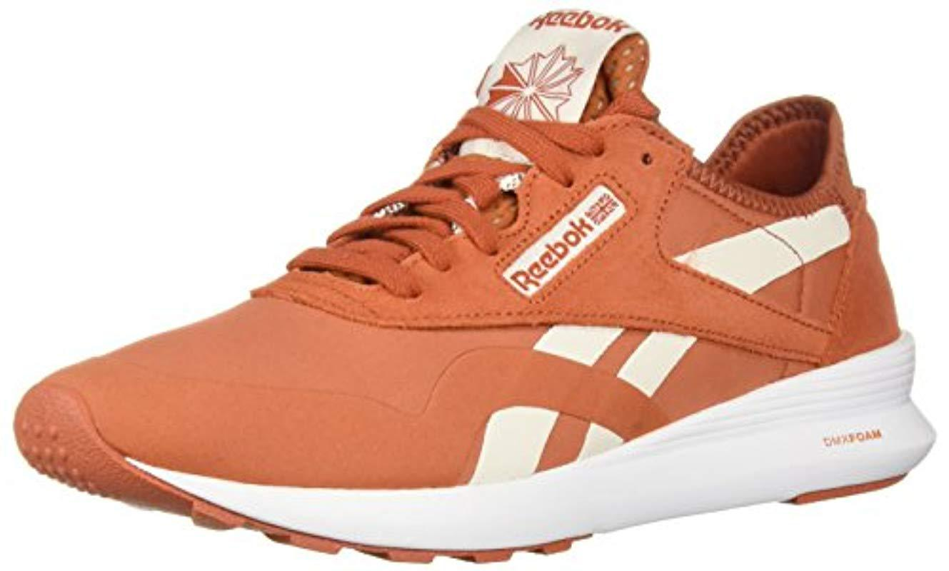 2838e53766ee8 Reebok - Orange Classic Nylon Sp Sneaker - Lyst. View fullscreen
