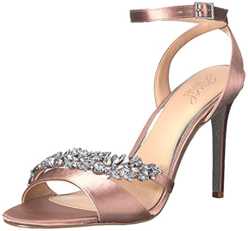 757160c2533d Badgley Mischka. Women s Merida Heeled Sandal