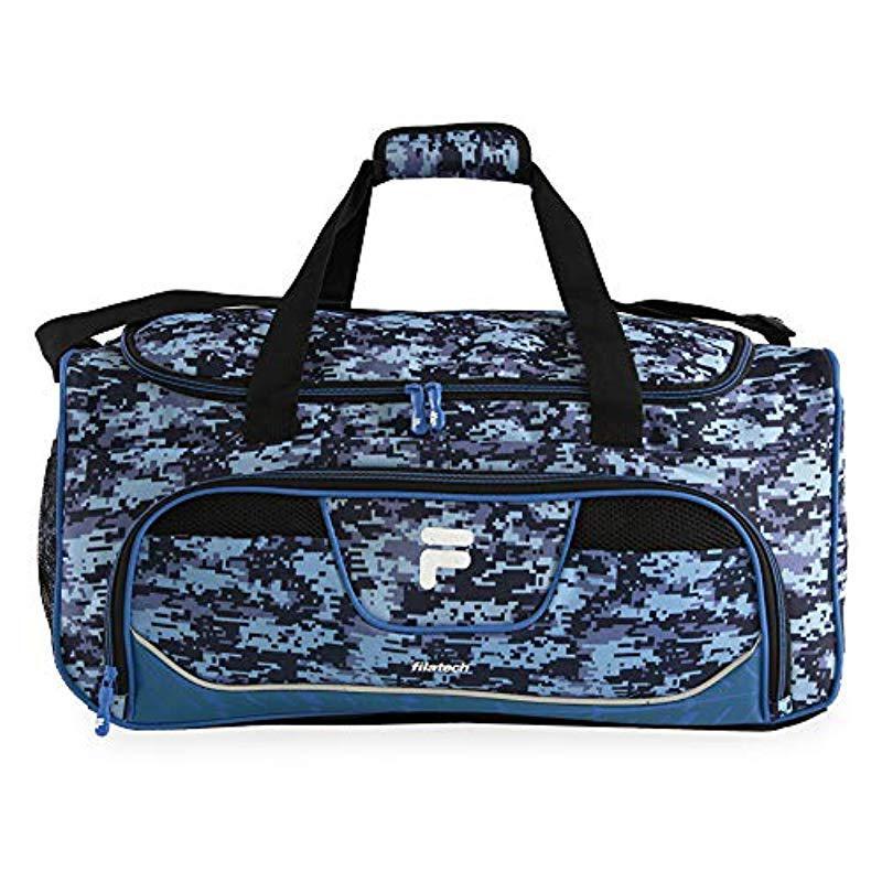 Lyst - Fila Speedlight Medium Duffel Gym Sports Bag Gym Bag in Black 9e63798ad52ea