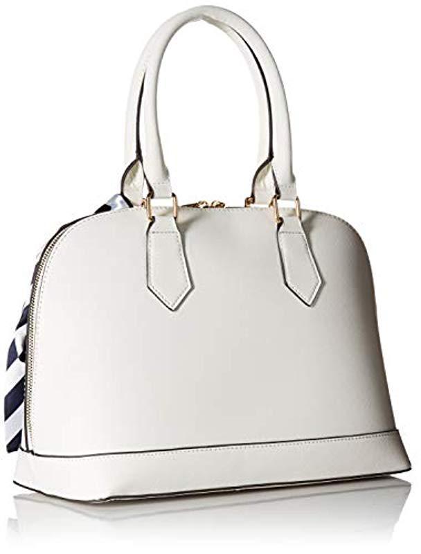 588135f85e8 Lyst - ALDO Yilari Top Handle Handbag in White