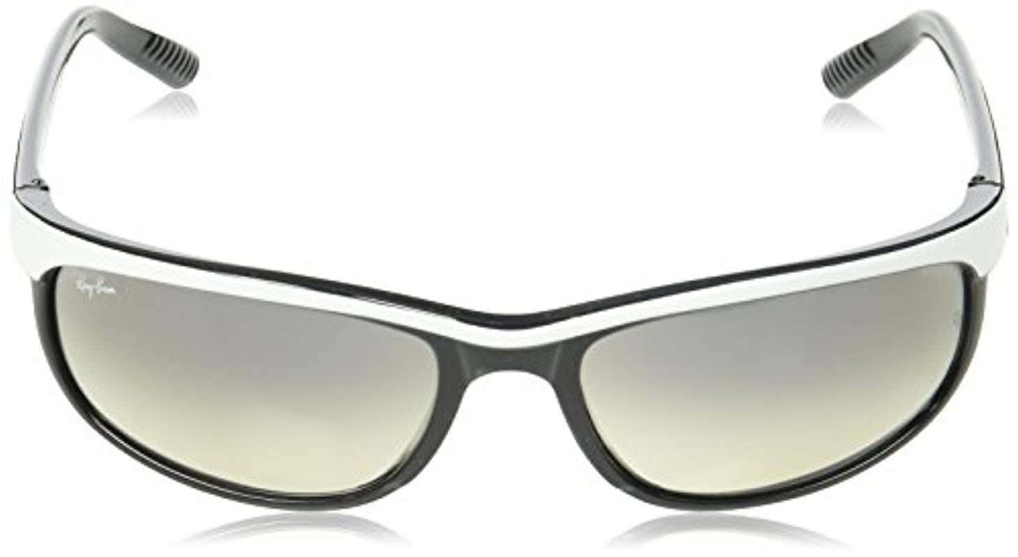 ca6e7546bb Lyst - Ray-Ban Predator 2 - Black Frame Crystal Mirror Grey Lenses ...
