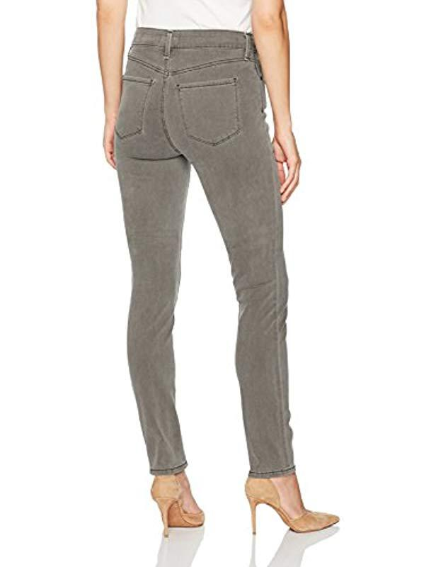 a953ccb6bf39ef Lyst - NYDJ S Alina Leggings In Vintage Pewter in Gray