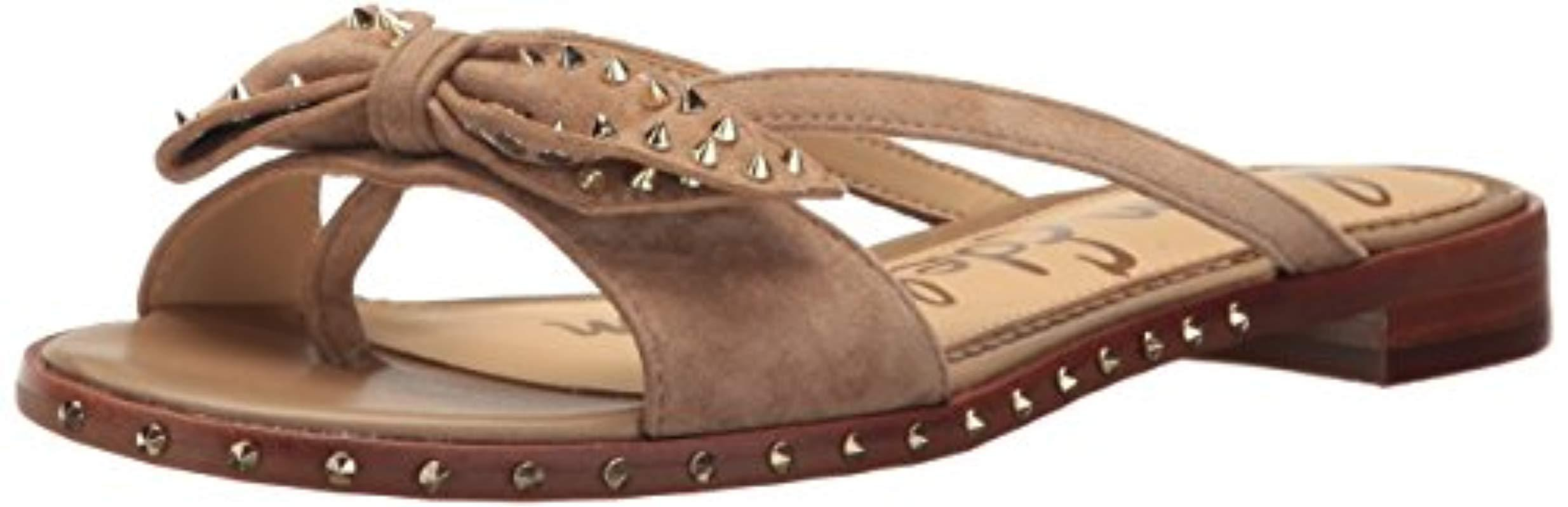 f6f5090b35aa Lyst - Sam Edelman Dariel Sandal in Natural - Save 31.0%