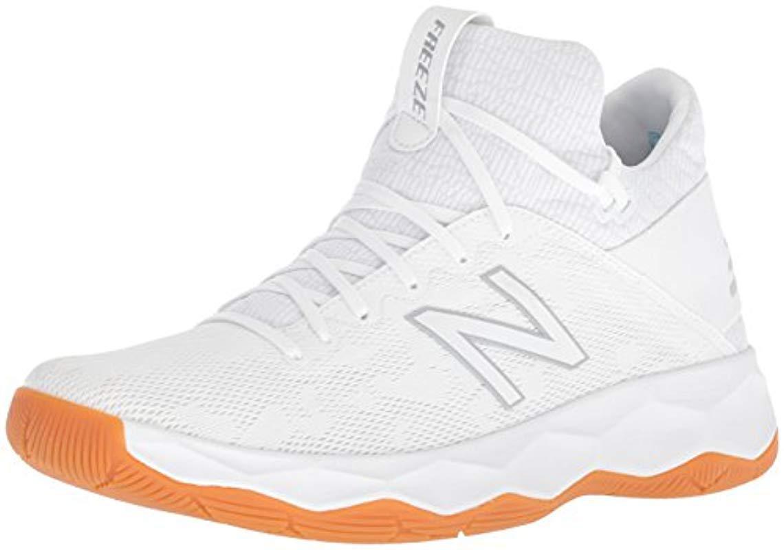 7ec7b19cc New Balance Freeze V2 Agility Lacrosse Shoe in White for Men - Lyst