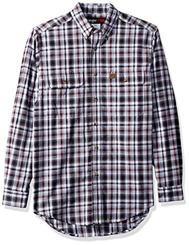 2f7f1a0028 Wrangler. Men s Riggs Workwear Big   Tall Foreman Long Sleeve Work Shirt