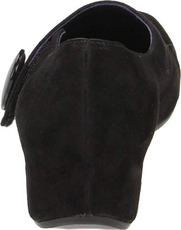 413c9a63401f Lyst - Vaneli Maxy Wedge Pump in Black - Save 51%