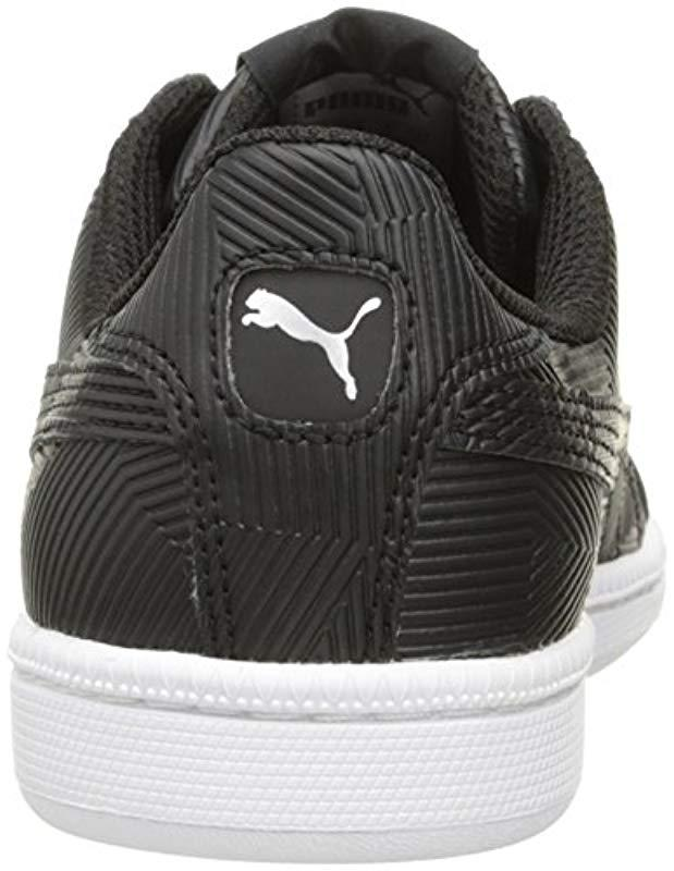 8b8b01e5404bf2 Lyst - PUMA Smash Deboss Fashion Sneaker in Black for Men - Save 39%