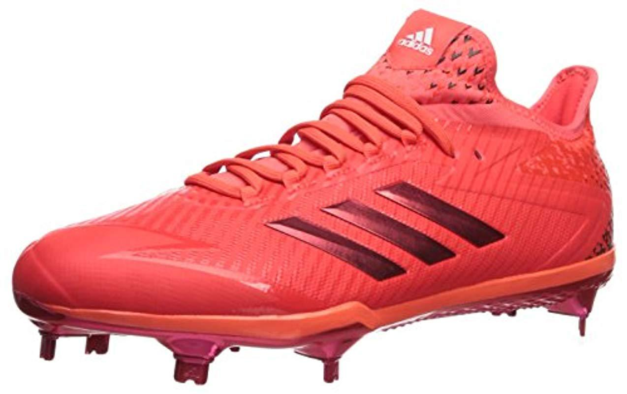 c3a5a2da25a4 adidas Performance Adizero Afterburner 4 in Red for Men - Save 28 ...