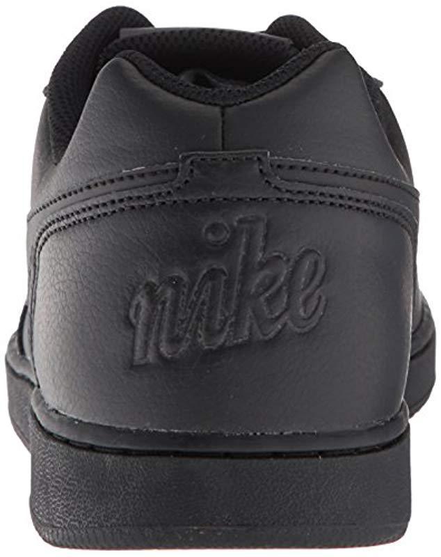13b4c08ec3 Lyst - Nike Ebernon Low Basketball Shoe in Black