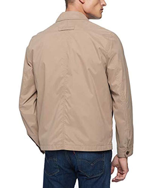 ed9df2cf Lyst - Tommy Hilfiger Lightweight Full-zip Jacket in Natural for Men - Save  1%