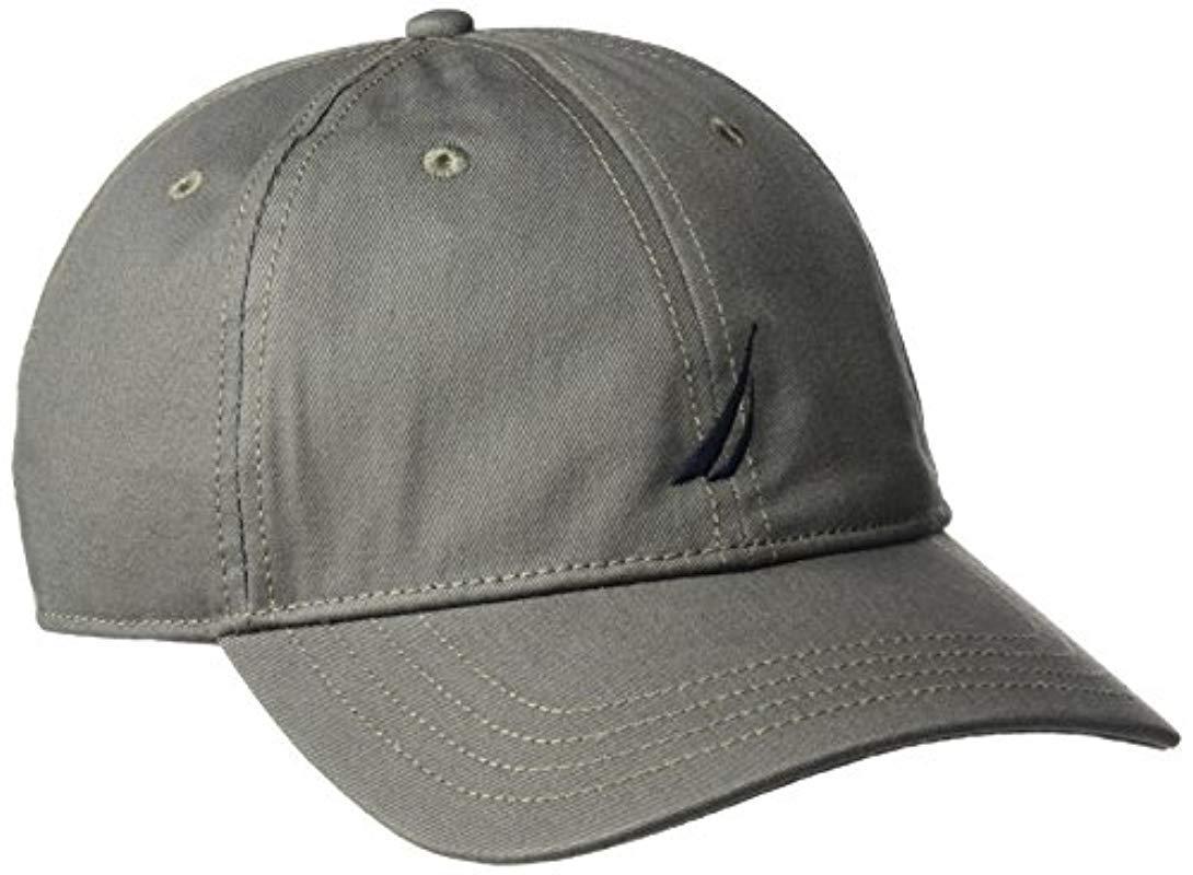 2e2b92eb787073 Lyst - Nautica J-class Hat in Gray for Men - Save 32%