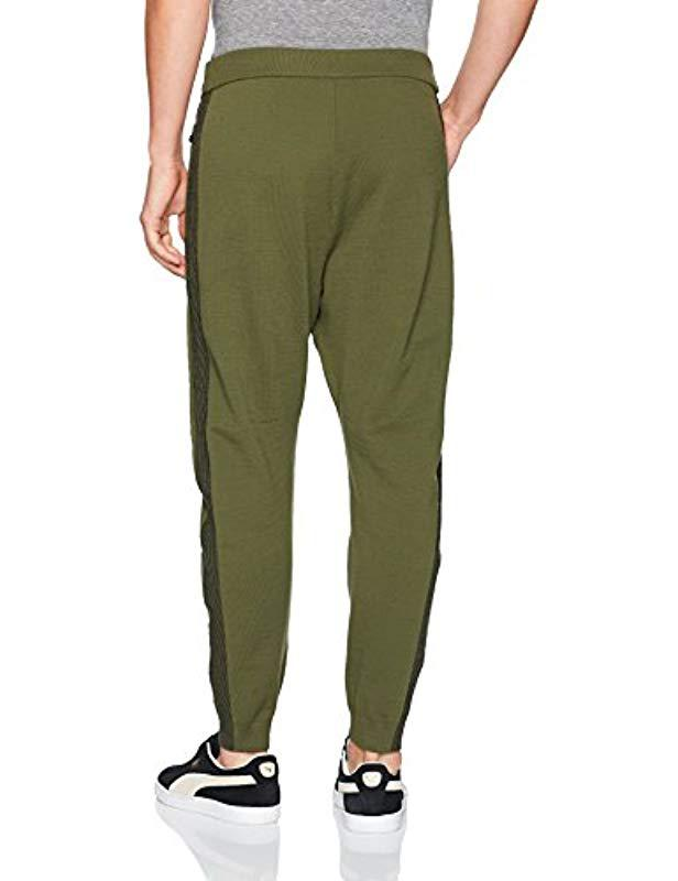 861826aa3c9d Lyst - PUMA Evoknit Move Pants in Green for Men