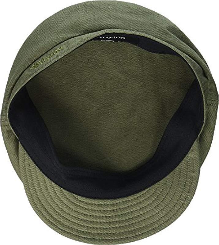 f11ab329 Brixton - Green Fiddler Greek Fisherman Hat - Lyst. View fullscreen