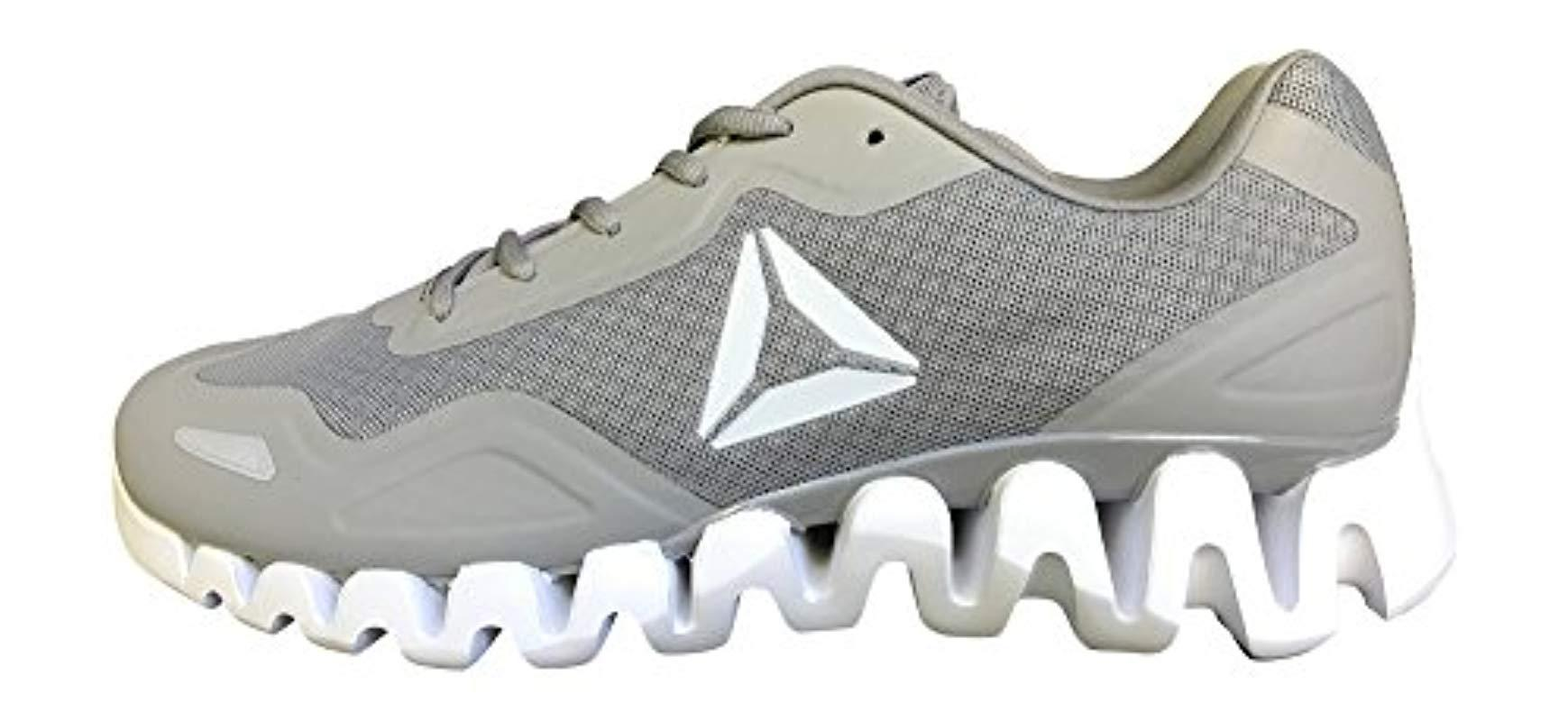 Lyst - Reebok Zigpulse Running Shoe Carbon in Gray for Men - Save ... 015bd2280