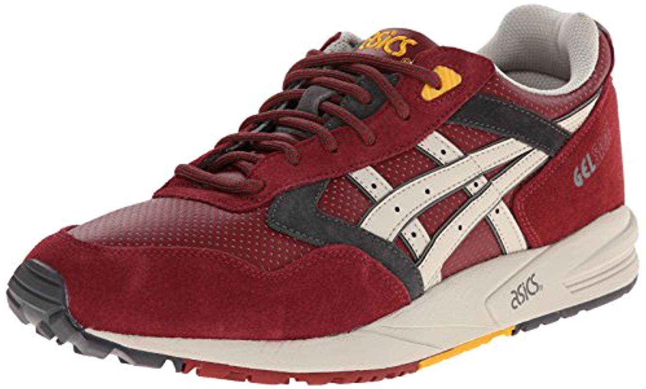 c209217d59d65 Lyst - Asics Gel-saga Retro Classic Running Sneaker in Red for Men