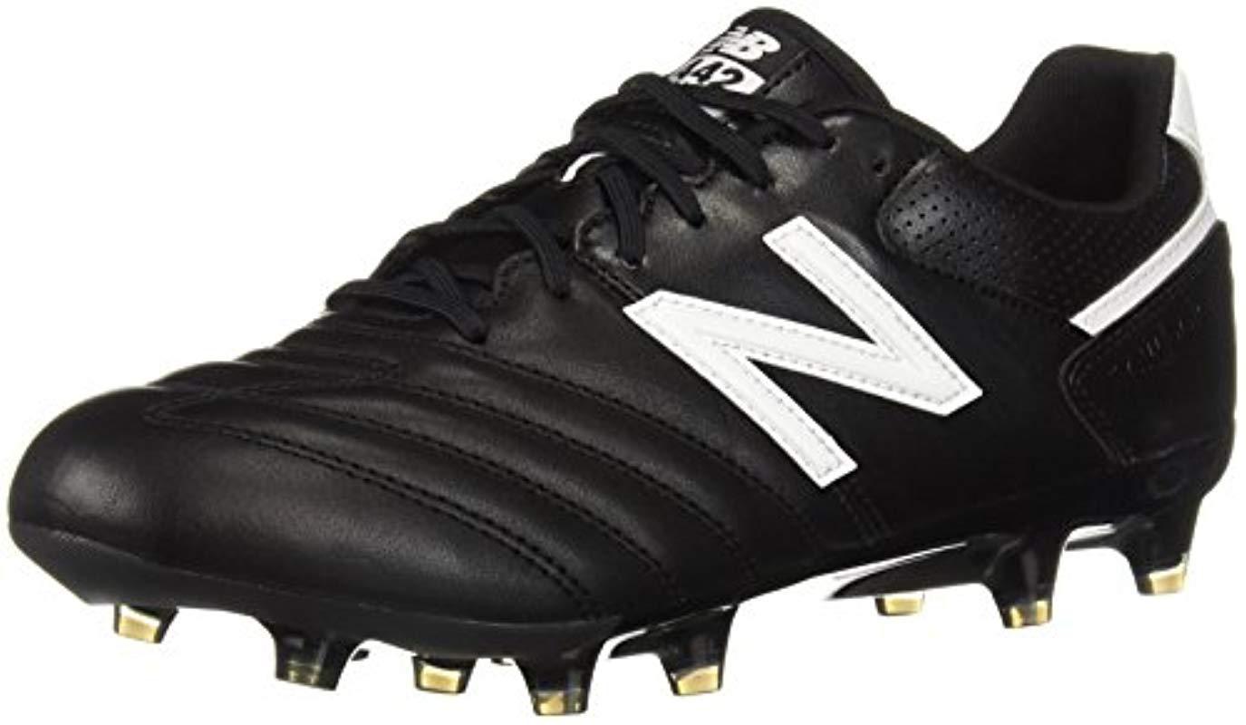 2e2f8c63e ... uk new balance. mens black 442 team fg v1 classic soccer shoe 17a63  50ee7