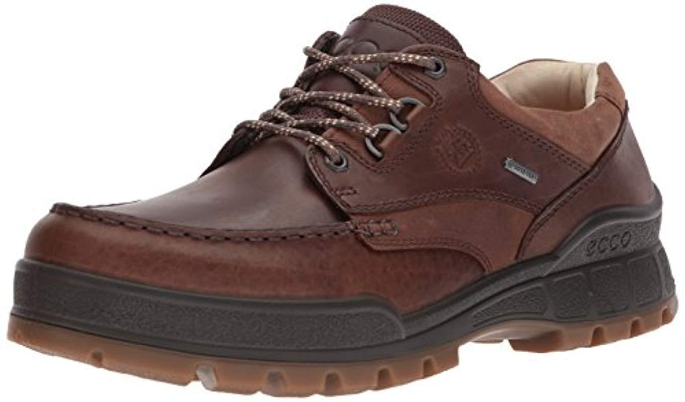 Lyst Ecco Track 25 Premium Low Oxford In Brown For Men