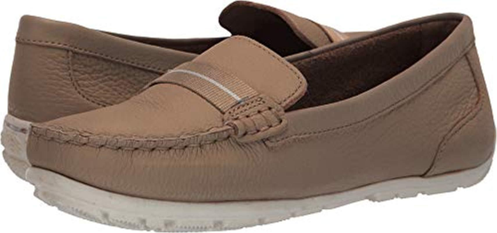 f61d2d244c8 Lyst - Clarks Dameo Vine Driving Style Loafer in White