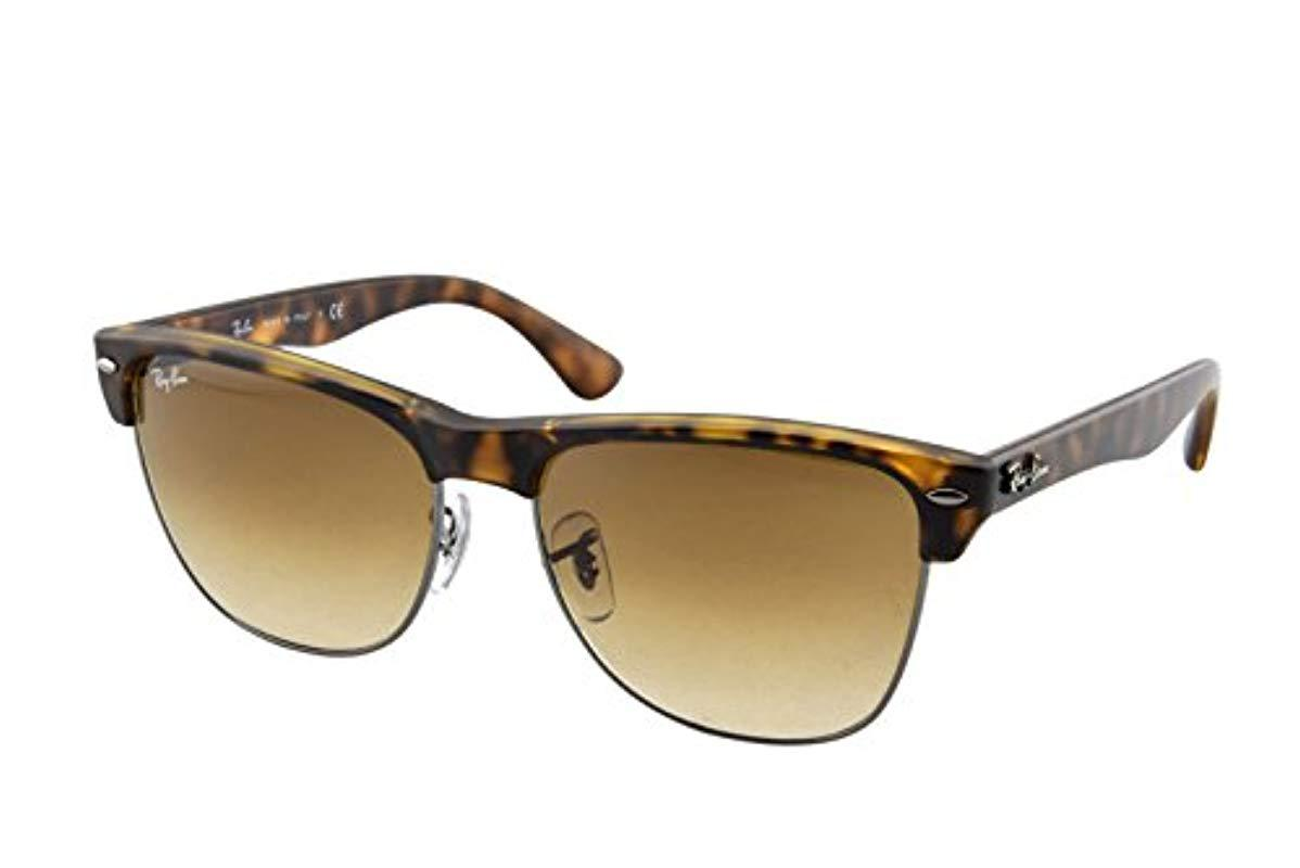 8c853117fcc Lyst - Ray-Ban Rb4175 Clubmaster Oversized Sunglasses for Men