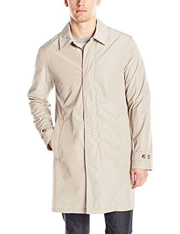 d8761175697f Lyst - Jack Spade Packable Trench Coat in Natural for Men