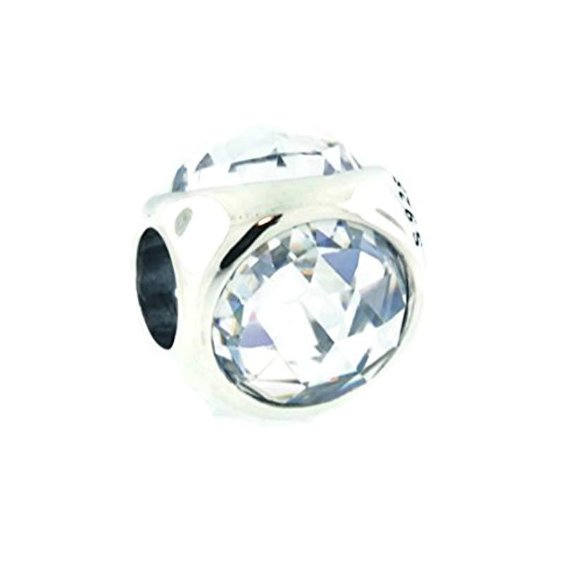 790105aa6 PANDORA. Women's Radiant Droplets Charm