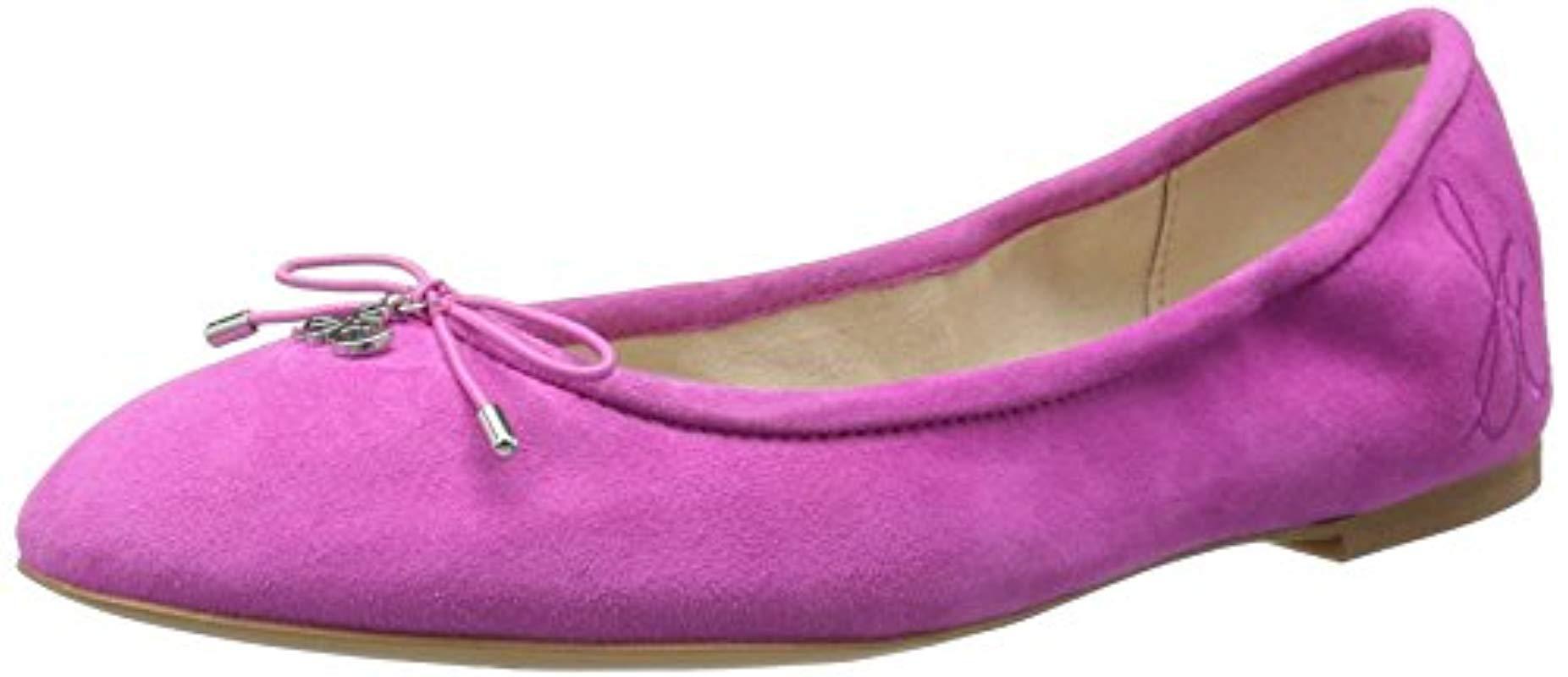 785cc0b3d9ad07 Lyst - Sam Edelman Felicia Ballet Flat in Pink - Save 31%