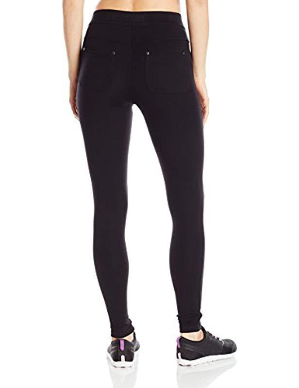 c64e7c77d833c Lyst - Calvin Klein Performance Techno Roma Pocket Legging in Black - Save  10%