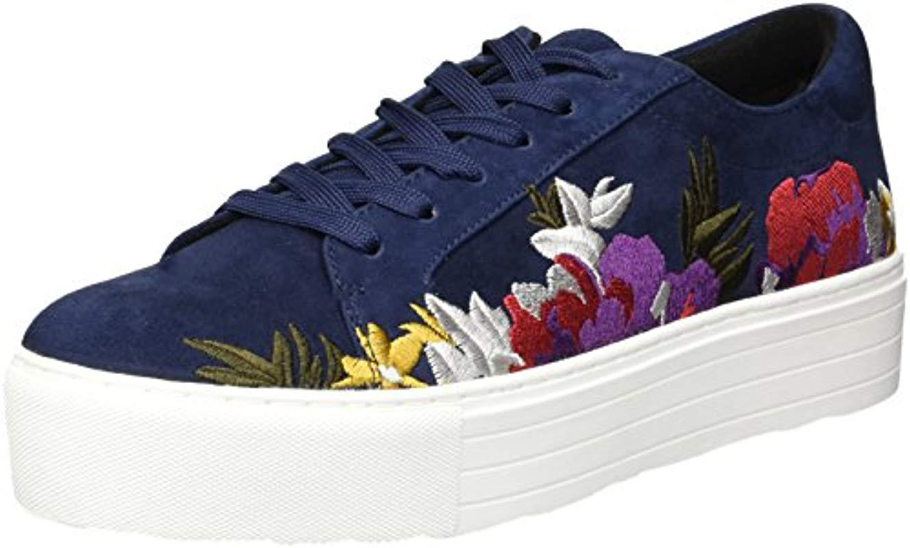 905829f6d5490 Lyst - Kenneth Cole Abbey 2 Platform Lace-up Embroidered Sneaker in ...