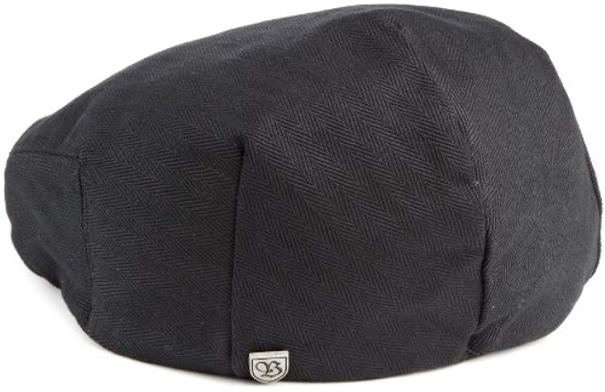 93957aa7 Brixton - Black Hooligan Driver Snap Hat for Men - Lyst. View fullscreen