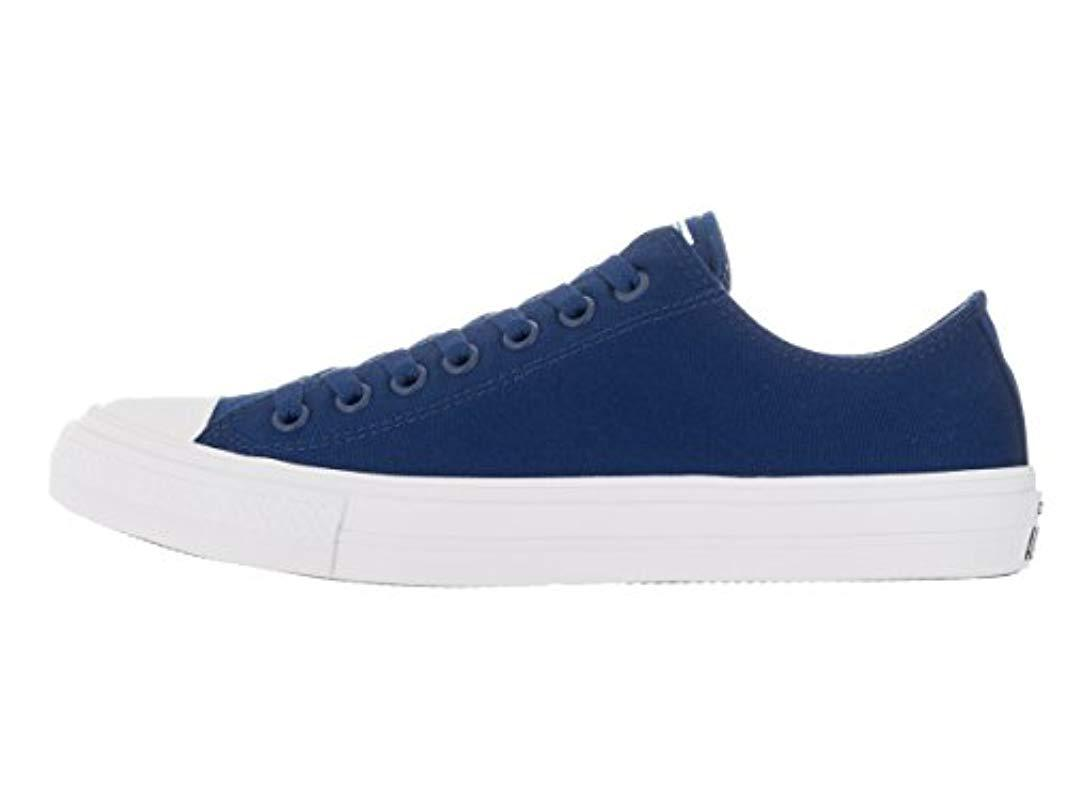 Lyst - Converse Chuck Taylor All Star Core Ox in Blue for Men - Save ... 6304d6214