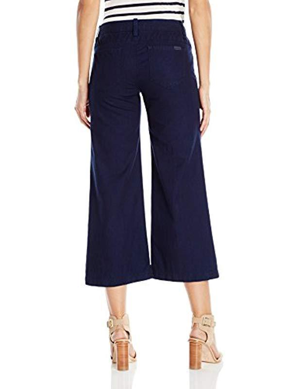 52f3d095ebd Lyst - Joe S Jeans Blair Trouser Gaucho Jean in Blue