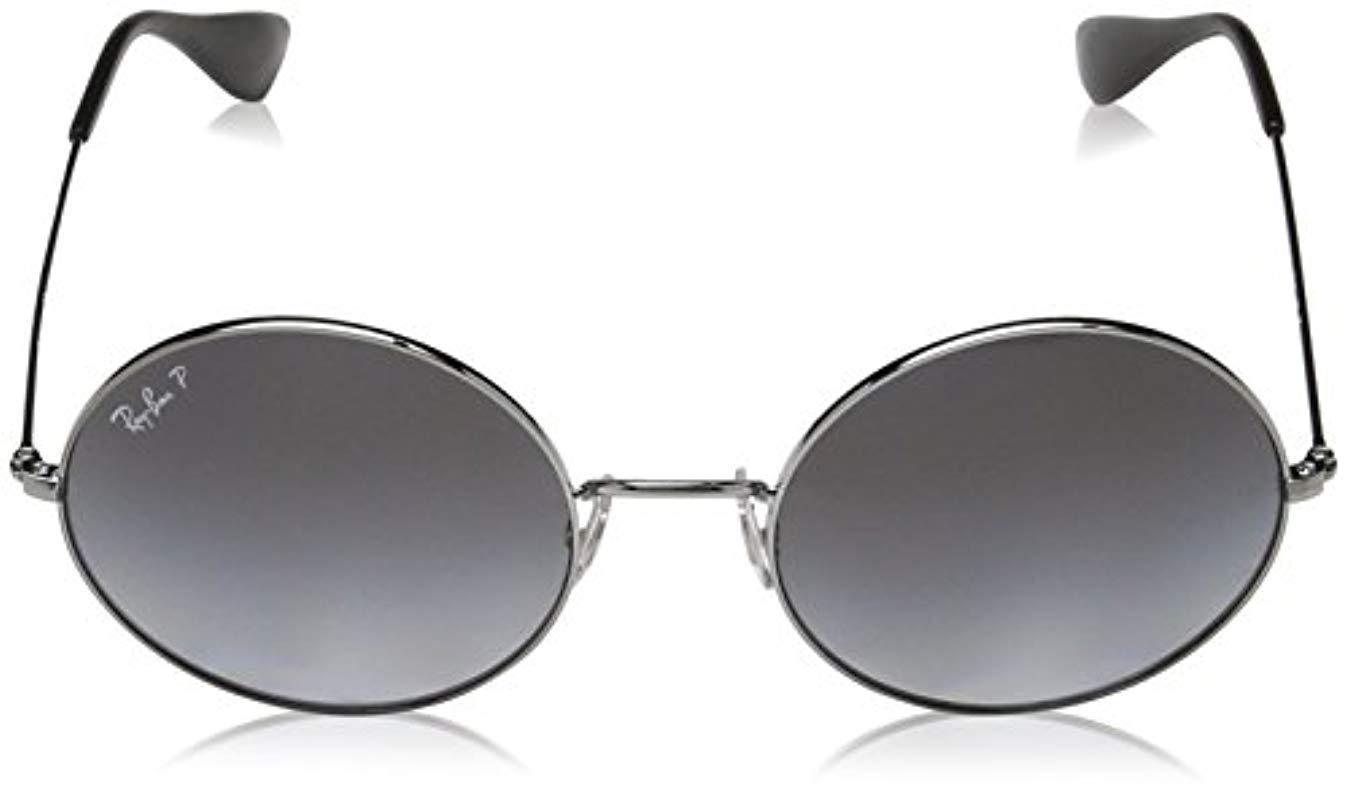 8c708b79e5 Ray-Ban - Multicolor Metal Non-polarized Iridium Round Sunglasses (rb3592)