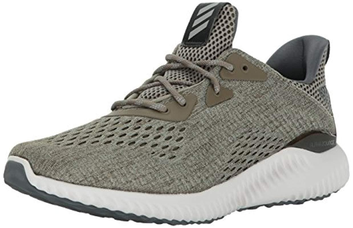 79e11be78f8b5 Lyst - adidas Alphabounce Em M Running Shoe Olive trace Cargo grey ...