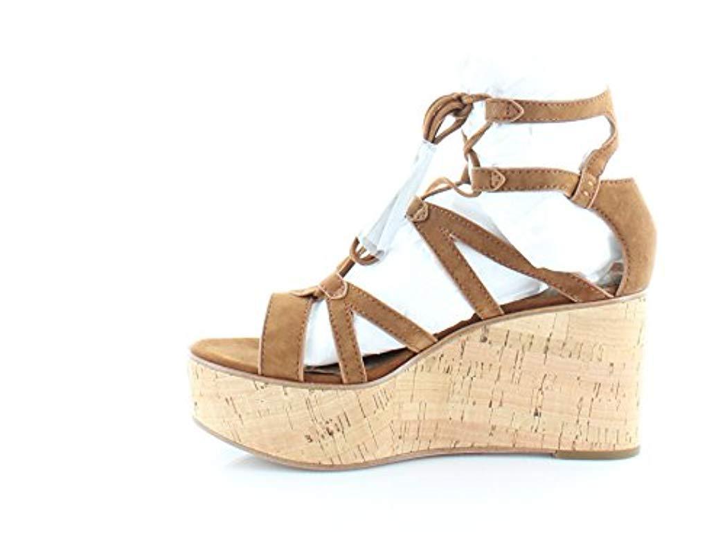 730daddf4fbe51 Lyst - Frye Heather Gladiator Wedge Sandal in Metallic - Save 11%