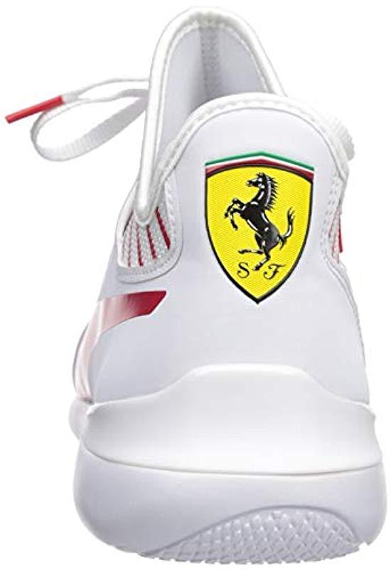 31846a0f9b169e PUMA - White Scuderia Ferrari Evo Cat Mace Sneakers for Men - Lyst. View  fullscreen