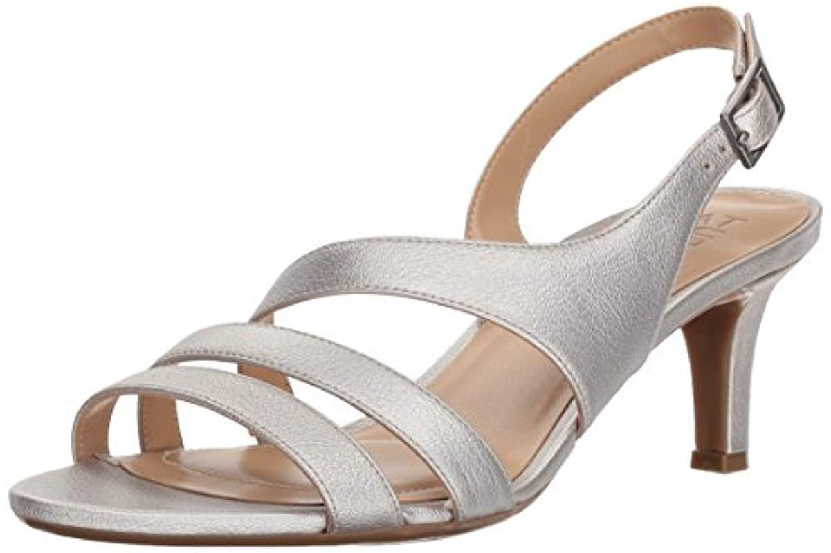 708f29e38f4 Naturalizer. Women s Metallic Taimi Heeled Sandal ...
