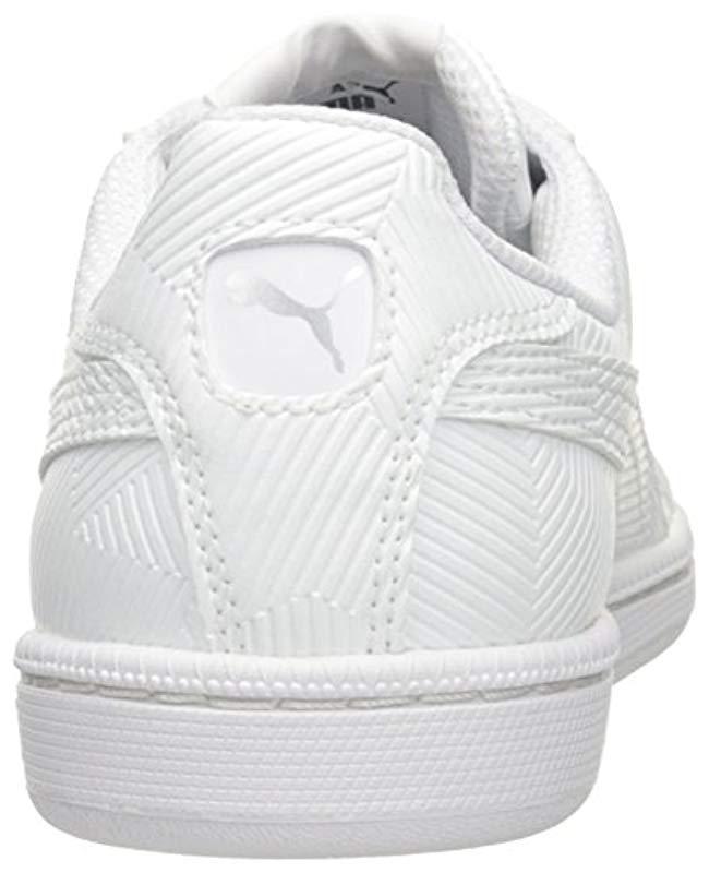 ec57775958ce92 Lyst - PUMA Smash Deboss Fashion Sneaker in White for Men - Save  13.043478260869563%