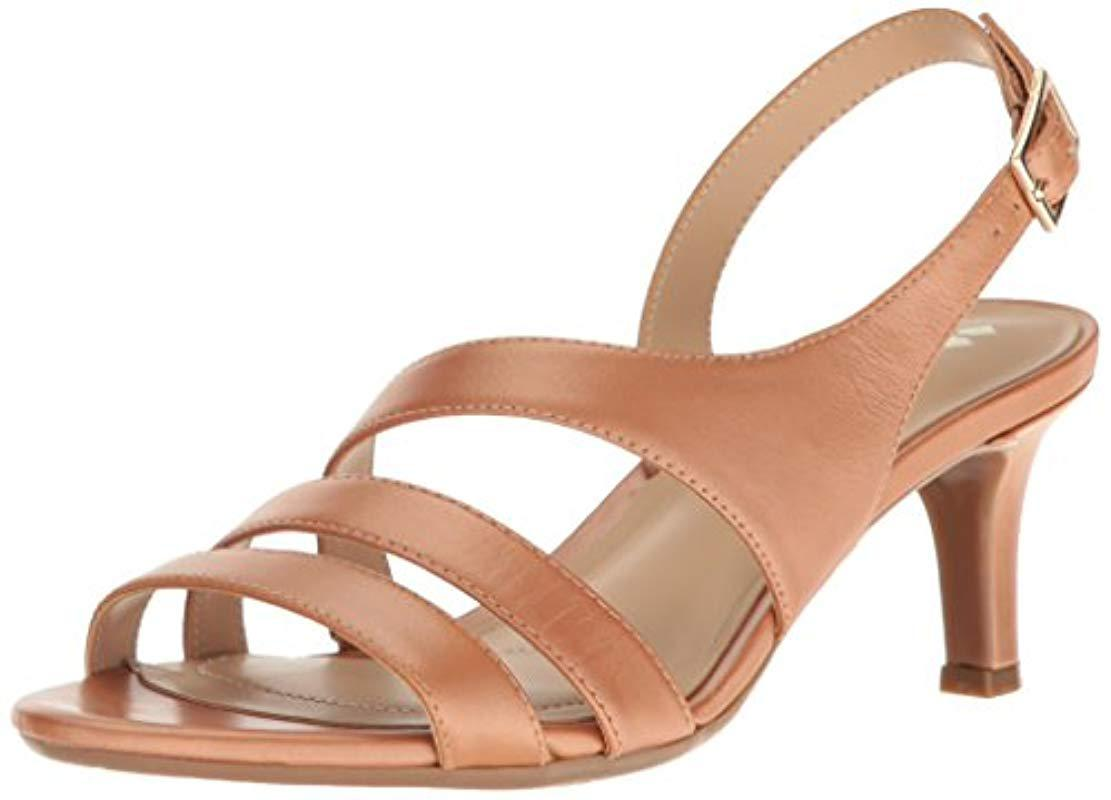 3e595555b6d6 Lyst - Naturalizer Taimi Dress Sandal in Brown - Save 71%