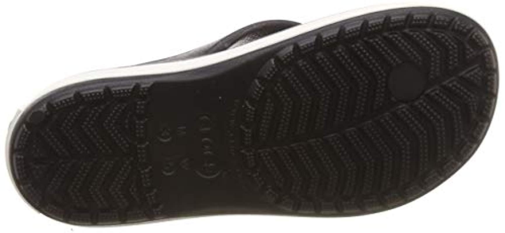2b7193ec1e55 Crocs™ - Black Crocband Platform Flip Flop - Lyst. View fullscreen